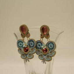 Pendientes soutache conrso beads (2)