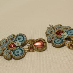 Pendientes soutache conrso beads (3)